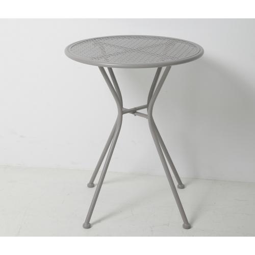 """Martini Iron 23.75"""" Round Bistro Table"""