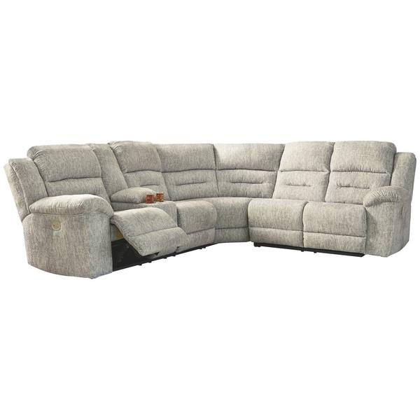 See Details - Family Den 3-piece Power Reclining Sectional