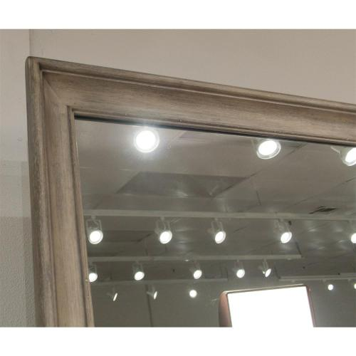 Myra - Shadowbox Mirror - Natural Finish