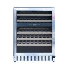 """See Details - 24"""" Outdoor Rated Dual Zone Wine Cooler"""