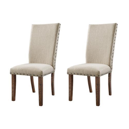 Jax Upholstered Side Chair Set