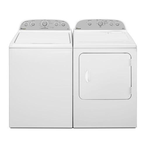 5.9 cu. ft. Top Load Electric Dryer with Flat Back Design