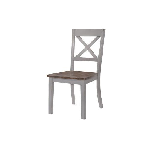 5059 A La Carte Gray 2-Pack Dining Chair