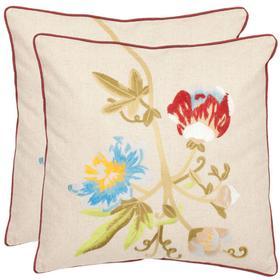 Pima Pillow - Multi / Cream