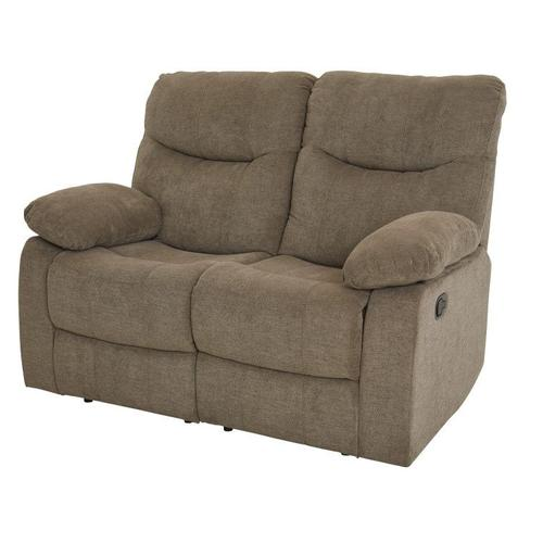 Dinero Brown Reclining Loveseat