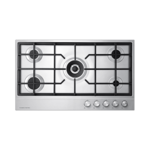 "Gas on Steel Cooktop, 36"" Product Image"