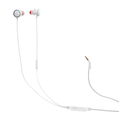 JBL Quantum 50 Wired in-ear gaming headset with volume slider and mic mute