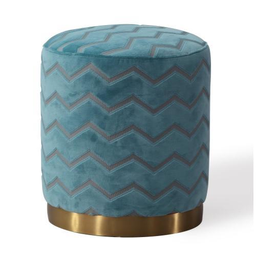 Tov Furniture - Opal Sky Morrocan Ottoman