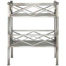 See Details - Jamese Storage Shelves - Silver