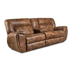 Left Arm Facing Loveseat, Single Recliner
