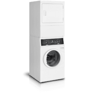 Speed QueenSF7 Stacked Washer-Electric Dryer with Sanitize  5-Year Warranty