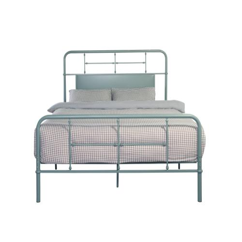 Emerald Home Fairfield Metal Bed Eucalyptus Green B202-12hbfbrgrn