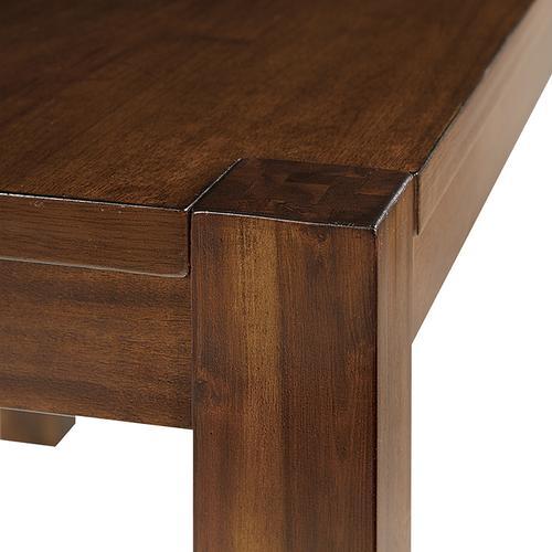 Office Star - Chandler Dining Table In Dark Oak Finish