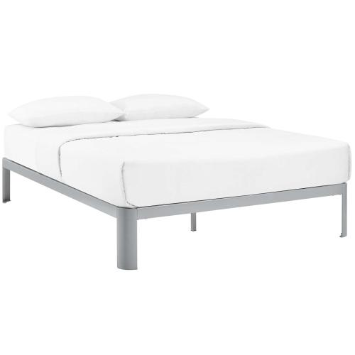 Modway - Corinne King Bed Frame in Gray