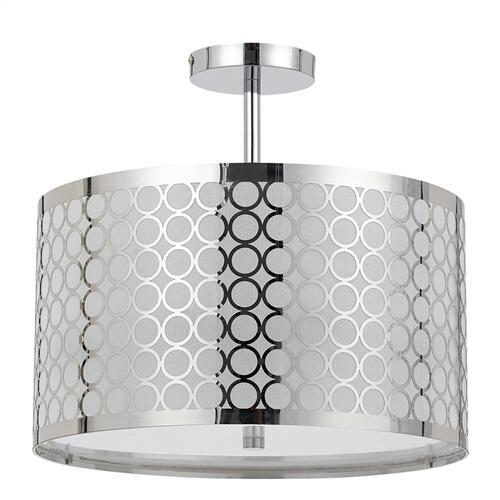 60Wx3 Madrid Semi Flush Pendant Fx