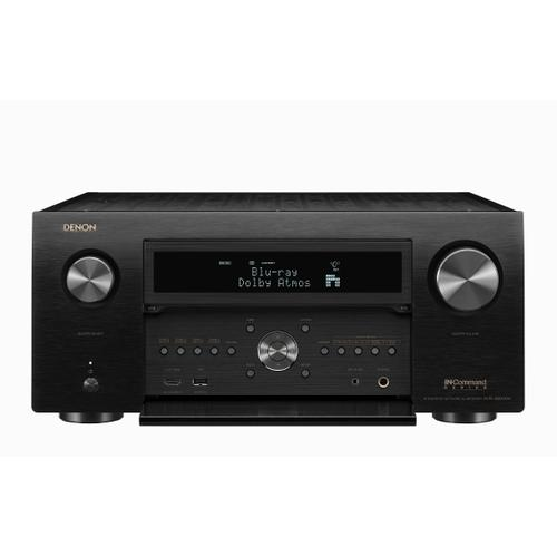 AVR reciever with 13.2 channels that support the latest surround sound formats and 4K Ultra HD