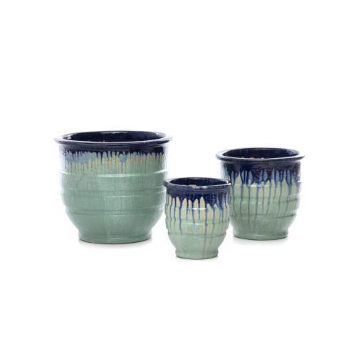 Fondue Ring Planter - Set of 3