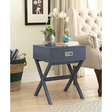 7079 GRAY X-Base End Table