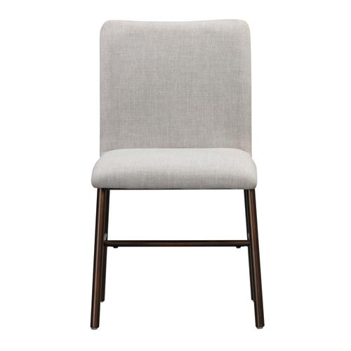 Bushwick Taupe Upholstered Dining Chair (Set of 2)