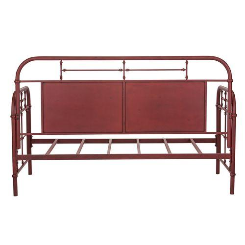 Liberty Furniture Industries - Twin Metal Day Bed - Red