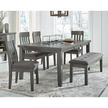 View Product - Dining Table and 4 Chairs and Bench
