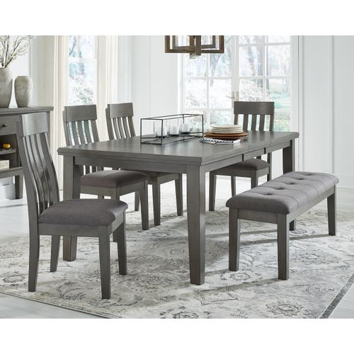 Gallery - Dining Table and 4 Chairs and Bench