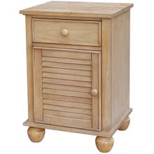See Details - Nantucket Door Nightstand/Accent Table