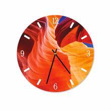 Antelope Round Square Acrylic Wall Clock