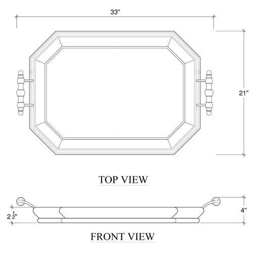 Gallery - Victorian Octagonal Tray