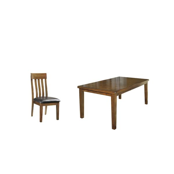 See Details - Dining Table and 8 Chairs