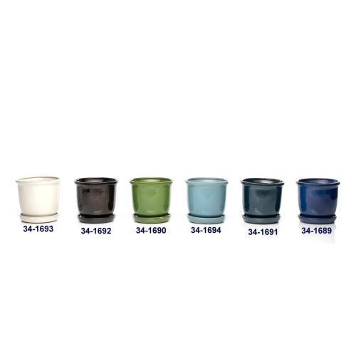 """Tomorrow 8"""" Petits Pots w/ attached saucer (Min 6 pcs)"""