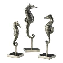 Seahorses On Stand 3pcs