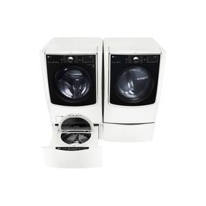 Lg5.5 Total Capacity LG TWINWash™ Bundle with LG SideKick™ and Electric Dryer