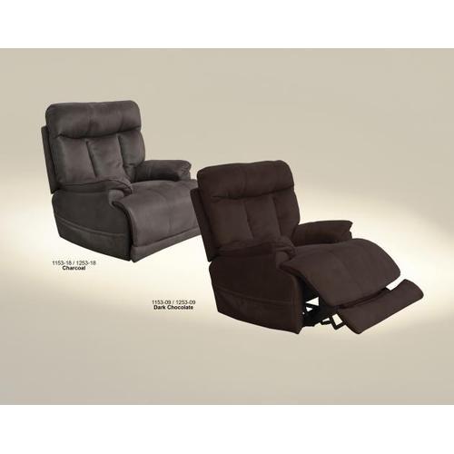 Catnapper - Pwr Headrest/Lumbar Pwr Lay Flat Rec w/Heat & Msg & Ext Ott
