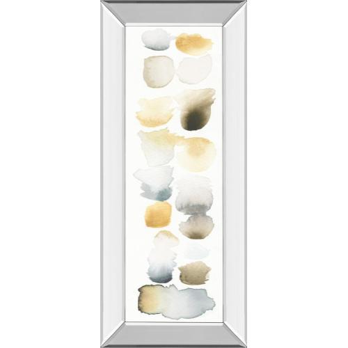"""""""Watercolor Swatch Panel Il"""" By Elyse De Neige Mirror Framed Print Wall Art"""