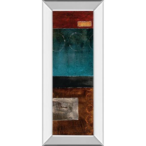 "Classy Art - ""Linear I"" By W. Blake Mirror Framed Print Wall Art"