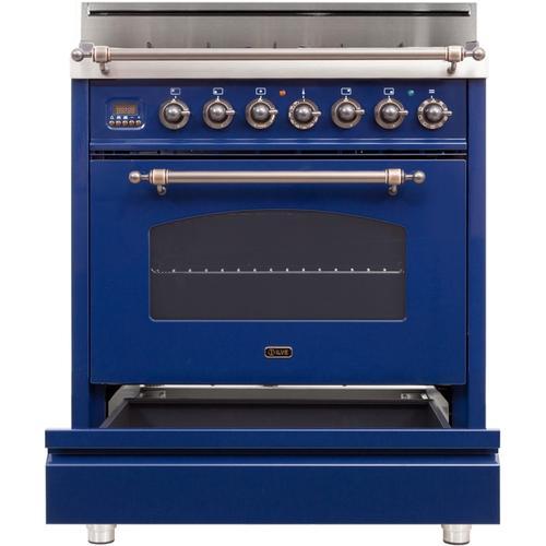 30 Inch Blue Natural Gas Freestanding Range