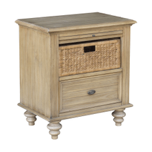 Hampton Basket Nightstand