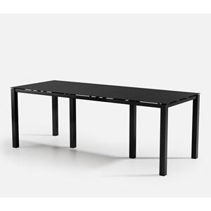 "44"" x 110"" Rectangular Bar Table (no Hole) Ht: 40"" Post Aluminum Base (Model # Includes Both Top & Base)"