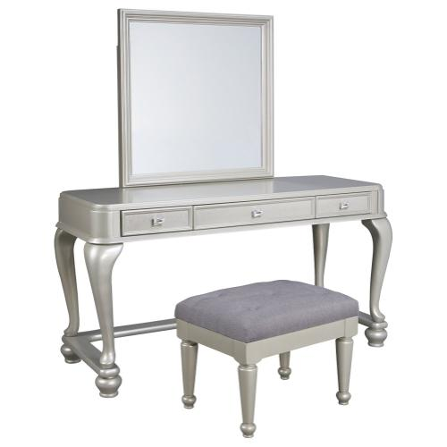 Ashley - Youth Mirrored Vanity With Chair