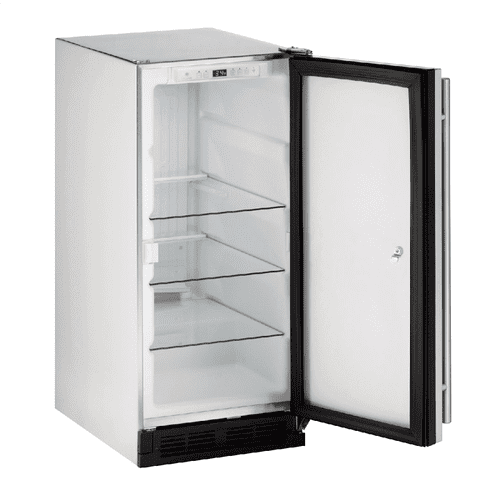 """Product Image - Outdoor Series 15"""" Outdoor Refrigerator With Stainless Solid Finish and Field Reversible Door Swing (115 Volts / 60 Hz)"""