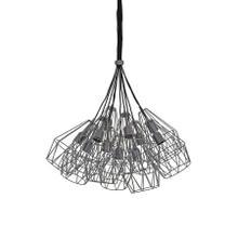 2905323 - Hanging lamp 11L 20x33 cm KOBAKA matt tin