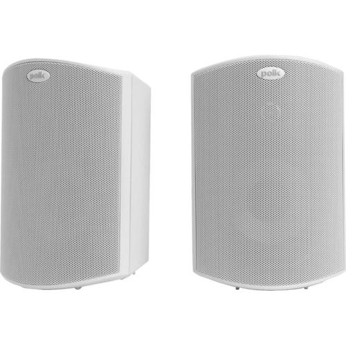 "5"" 2-Way Indoor/Outdoor Loudspeakers in White"