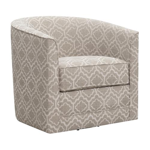 Emerald Home Furnishings - Swivel Accent Chair