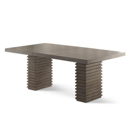 """Gallery - Mila 60-78 Inch Dining Table w/18"""" Leaf"""