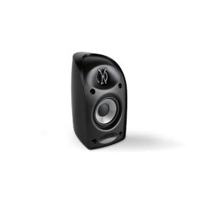 "Blackstone TL Series compact satellite speaker with 3 1/4"" driver and 3/4"" tweeter in Black"