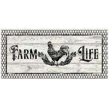 Cozy Cabin Farm Life White Wash