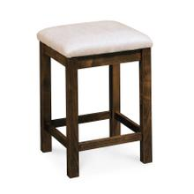 "Sheffield Backless Stationary Barstool, Sheffield Backless Stationary Barstool, 30""h, Fabric Seat"