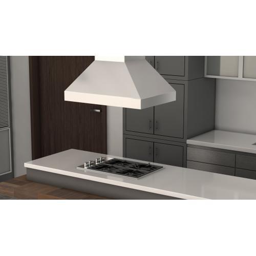 Zline Kitchen and Bath - ZLINE Ducted Island Mount Range Hood in Stainless Steel (597i) [Size: 30 Inch]