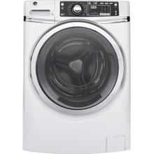 GE 4.9 DOE cu. ft. Capacity Front Load ENERGY STAR Washer with Steam, White / Discontinued / New In Box / Warranty / ID: CNTR885G